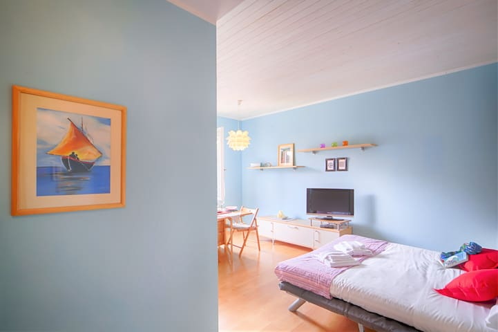 NEW!Duino's blue studio! 5 min from Sistiana