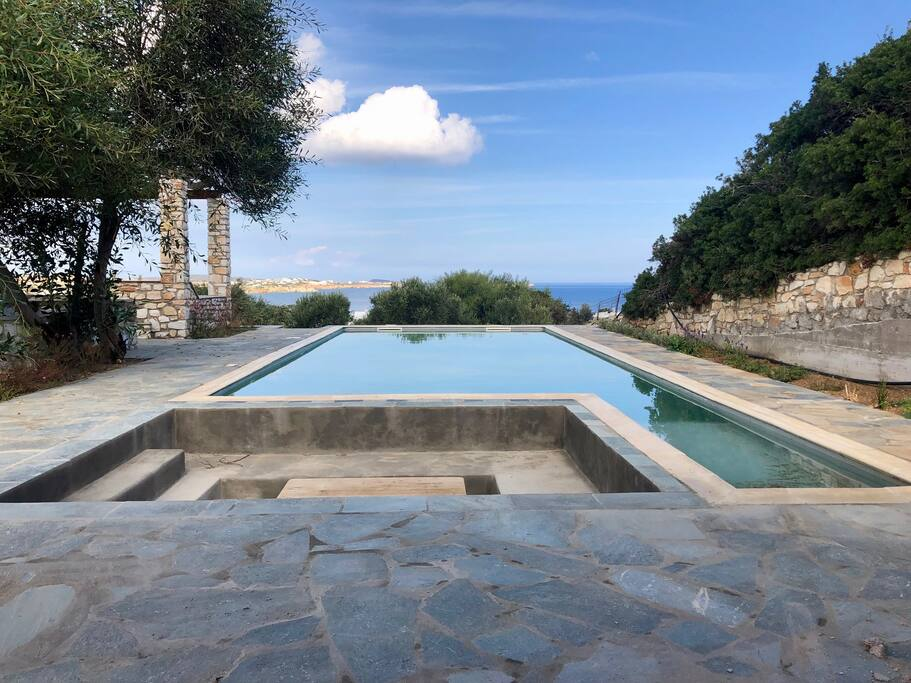 Enjoy your private pool with great sea views