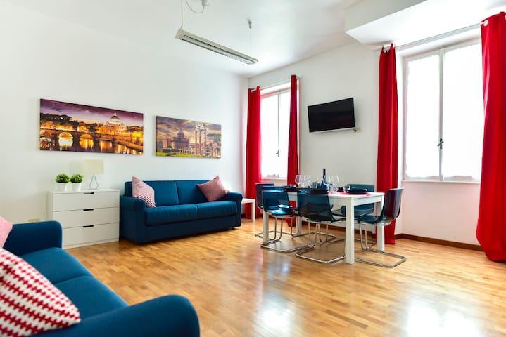 CS Brand NEW Vatican / Stadium Apartment - Roma - Apartment