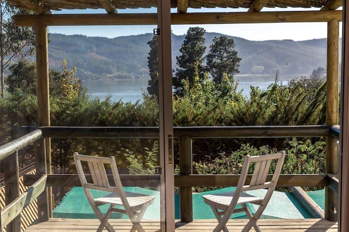 Linda y moderna casa en Lago Vichuquen