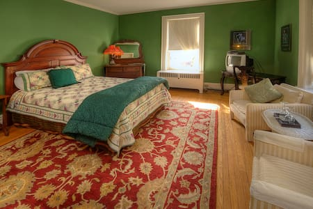 Historic Bed and Breakfast - Green Room - Williamsport - Pis