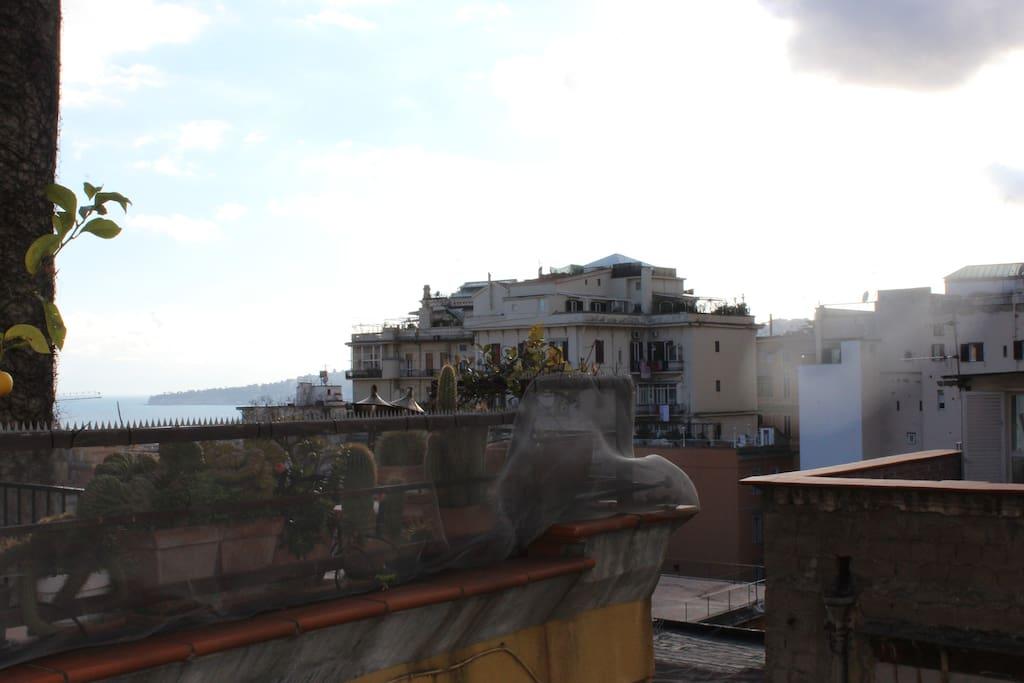 Vista balcone 1°Camera matrimoniale