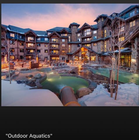 Slope side Ski in/ski out luxury in  Breckenridge