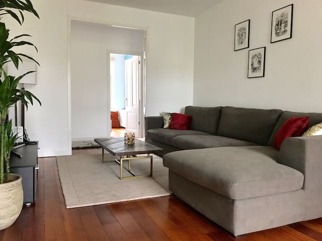 Private room - king bed, Beautiful flat in De Pijp