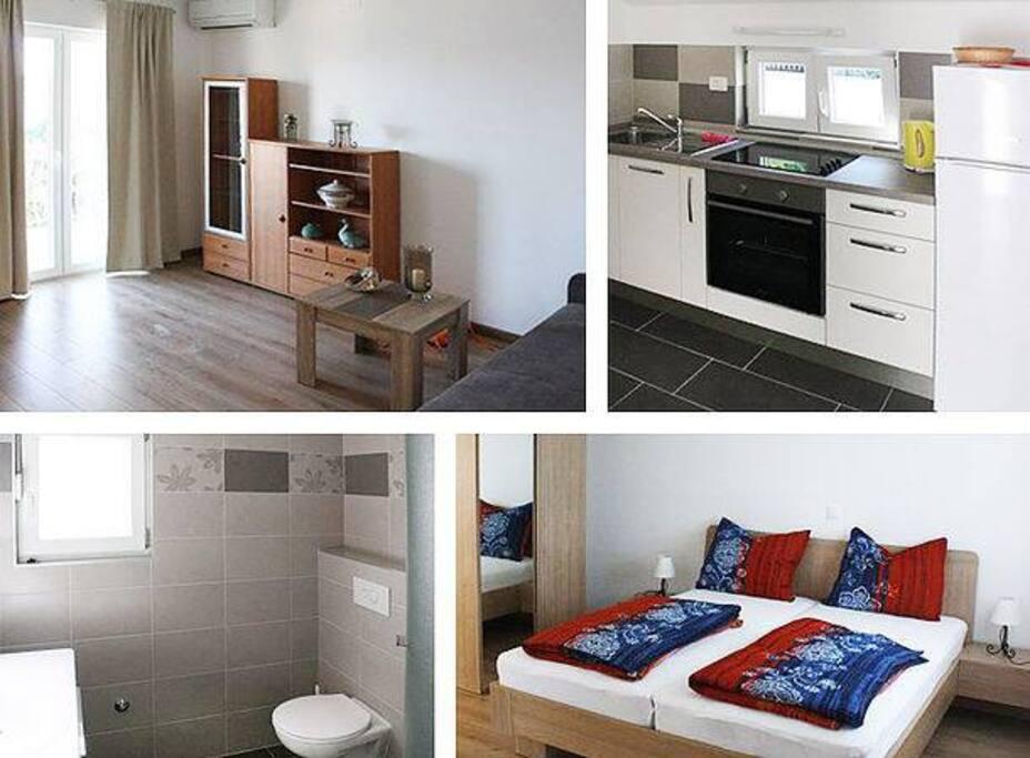 Impressionen des Appartements Nani