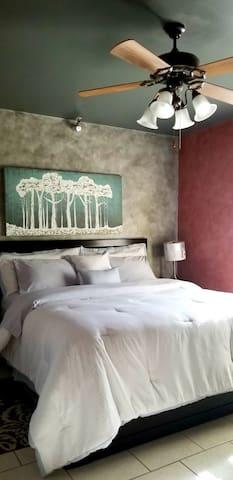 ZEN Bedroom - KING size bed