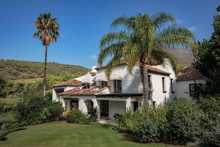 Deluxe Villa in Casares with 2 Indoor Pool, Sauna & Jacuzzi