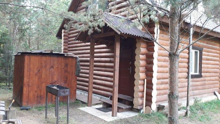 Дом-баня на Рыбинском водохранилище