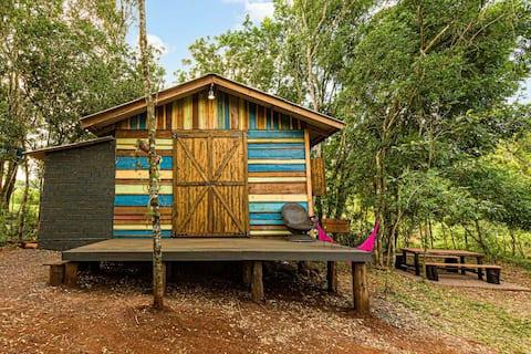 Cabana para descanso, próximo a Cascavel PR.