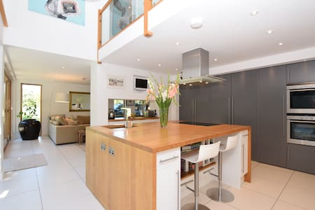 Luxury Contemporary House on Dartmoor - Bridford