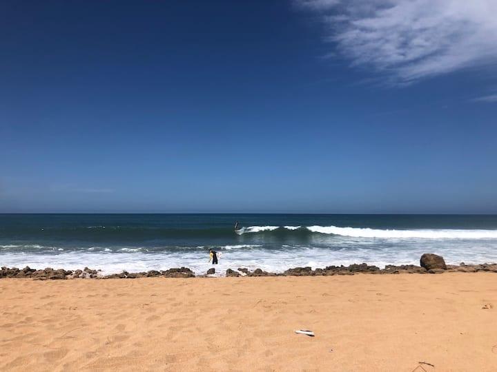Surfing around Rabat