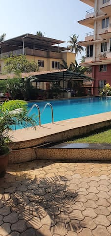 Cozy 2BHK Apartment in the heart of Goa - Panjim