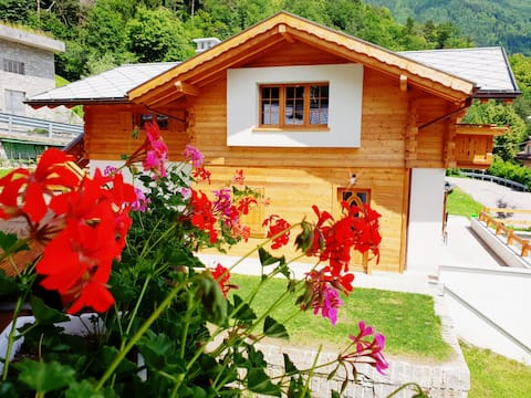 Typical and beautiful chalet