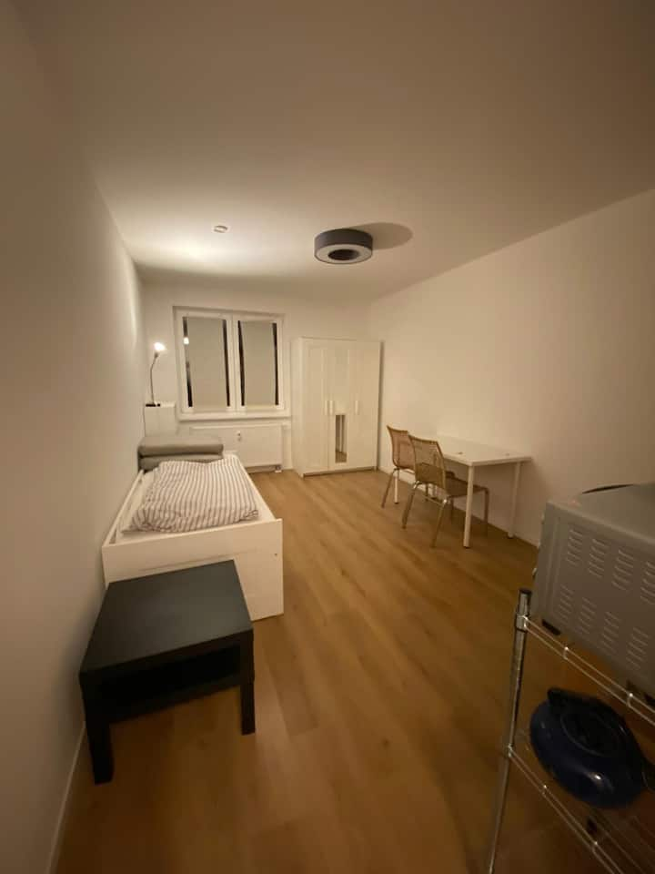 Central Berlin 1 Room Apartment