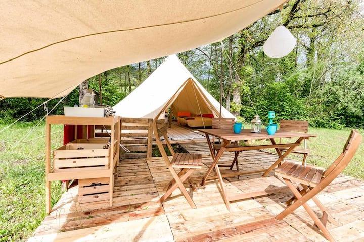Tente Lodge Sybley 1 à 5 personnes