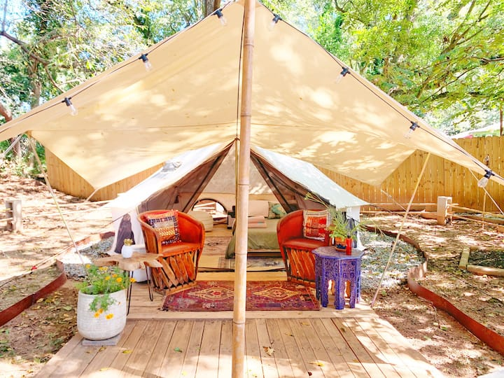 Glamping in the city close to Downtown Atl