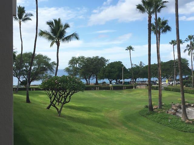 Lanai view toward ocean.