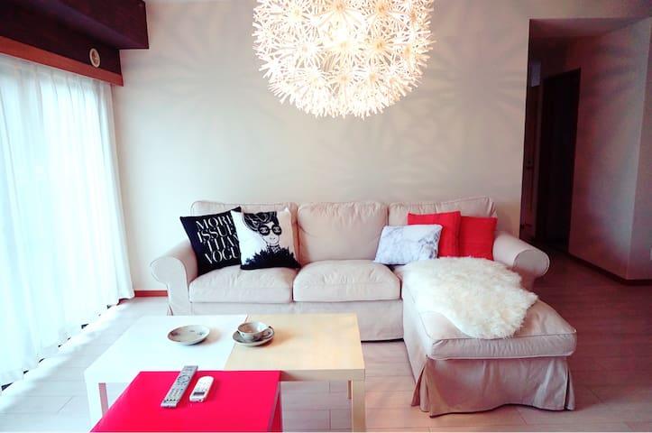 Feel Japanese Tatami room/free wifi and snacks