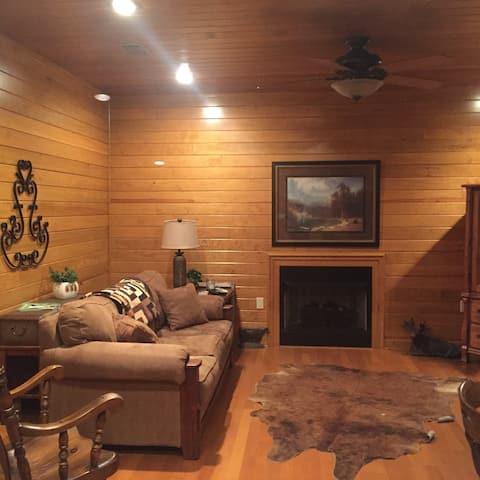The Barndiminium - total comfort/cabin decor.