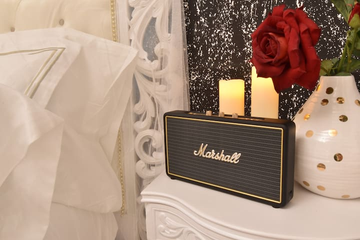 Marshall Portable Bluetooth Speaker.