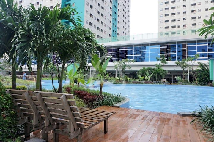 Free WiFi Mall Central Jakarta Green Pramuka O