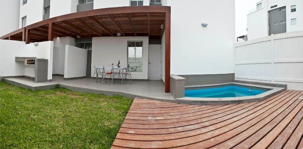 Departamento 1er piso frente al mar en Paracas - Paracas - Apartmen