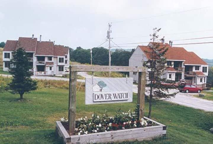Dover Watch Condo 2 near Mt. Snow, 2 BR, Sleeps 6