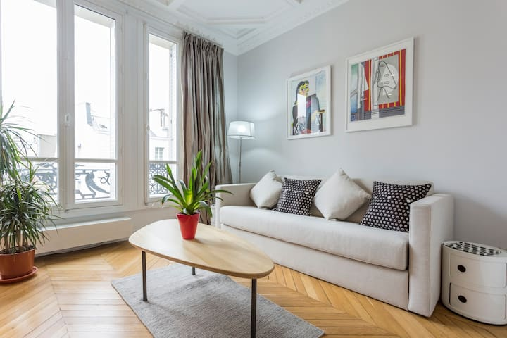 Beautiful renovation in The Marais