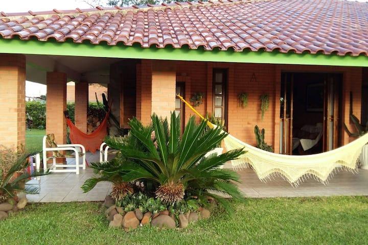 Casa Veraneio em Mariápolis. Osório RS
