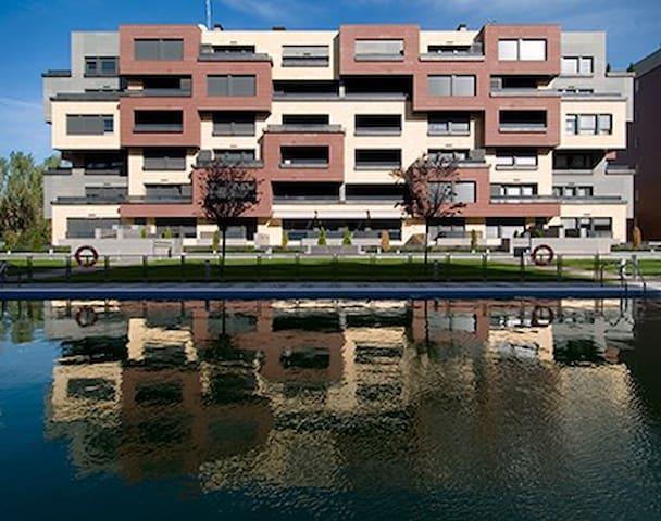 Apartamento de lujo,  garaje y wifi - Logroño - Huoneisto
