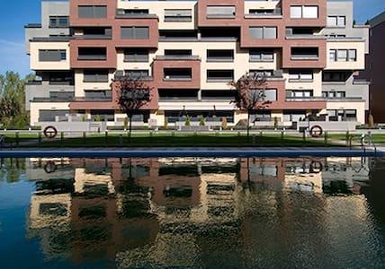 Apartamento de lujo,  garaje y wifi - Logroño - Apartemen