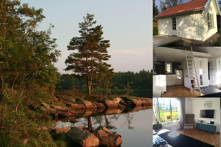 Nyrenoverad stuga mitt i naturen - Uddevalla - Kulübe