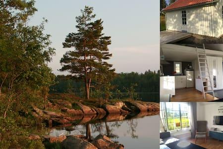 Nyrenoverad stuga mitt i naturen - Uddevalla