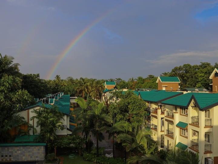 Skylark by Nirvana Abode - Luxury 2BHK - Goa.