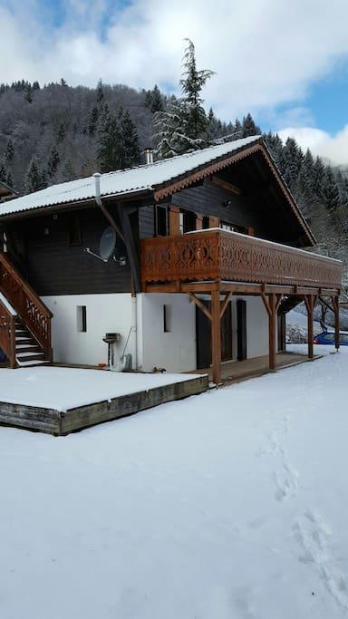 Chalet Mimi in winter