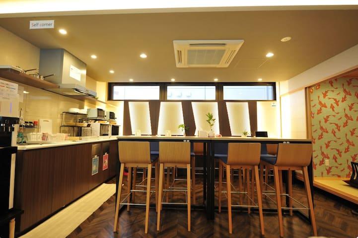 Mixed Dormitory♪Near Ginza/Tokyo/Tsukiji♪_TP18