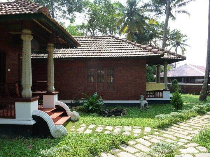 North Cliff Cottages at the Varkala Beach