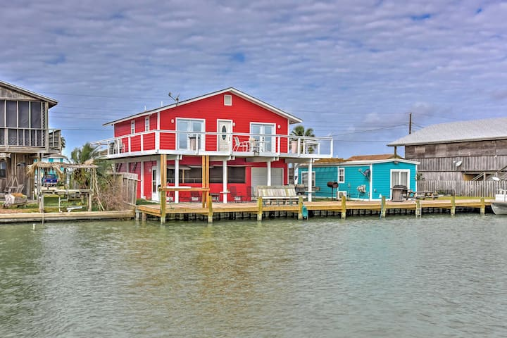 Waterfront 3BR Rockport House w/ Hot Tub - Rockport - Hus
