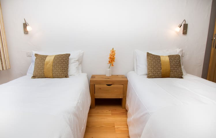 Gorgeous twin room, the fourth bedroom