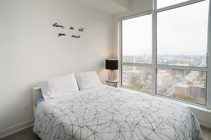 20th floor view New Condo by Financial &Entertain - Toronto - Társasház