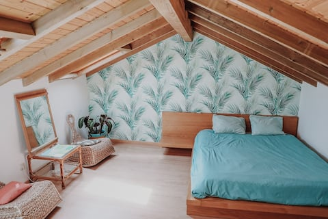 Room to relax in after a long day of surfing