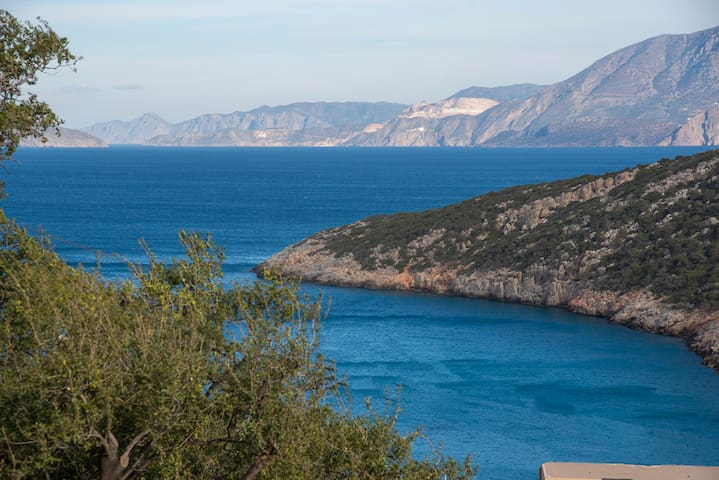 Villa with sea view near beach - NAIADES VILLA