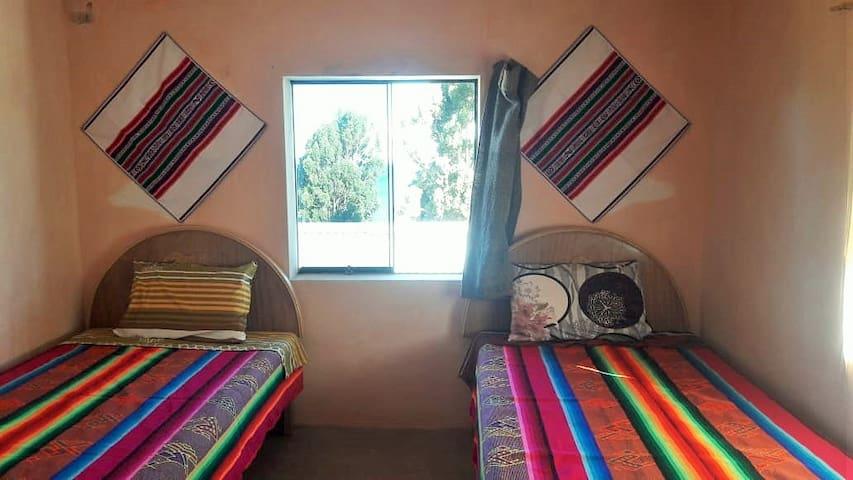 Habitaciones con vistas al lago Titicaca