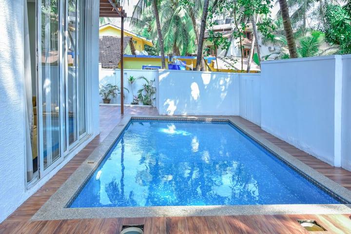 Calangute Beach 2 BHK Private Pool Premium Villa