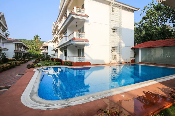 1 BHK Apartment With Beautiful View at Siolim - Mapusa - Byt