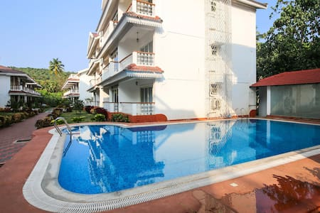 1 BHK Apartment With Beautiful View at Siolim - Mapusa - Apartmen