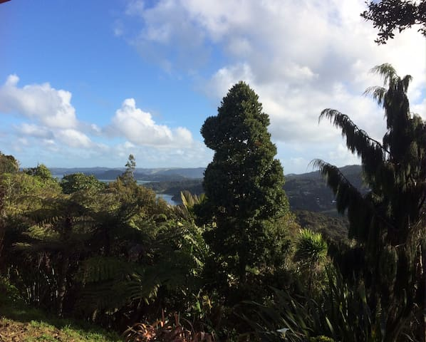 Cosy studio Waitakere Ranges studio with views