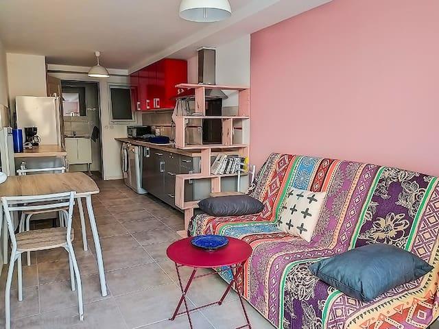 Appartement idéal pour festivaliers et randonneurs