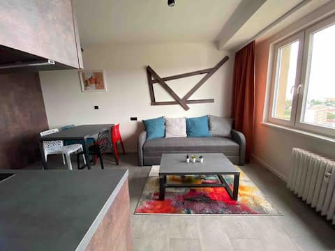 Platinium view Apartment in center fully equipped