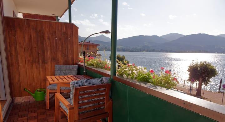 Ferienwohnung direkt am See